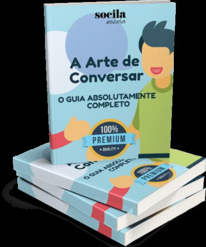 Capa Do livro Comprimida Arte de Conversar